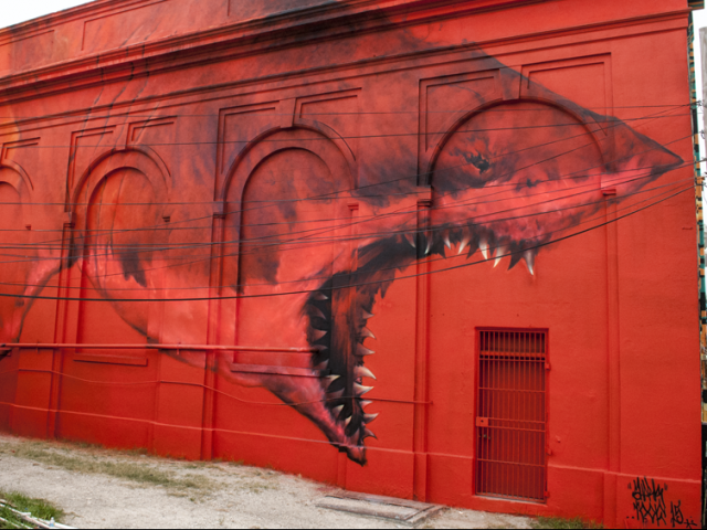 The magic of the mural public art makes st petersburg for Blood in blood out mural